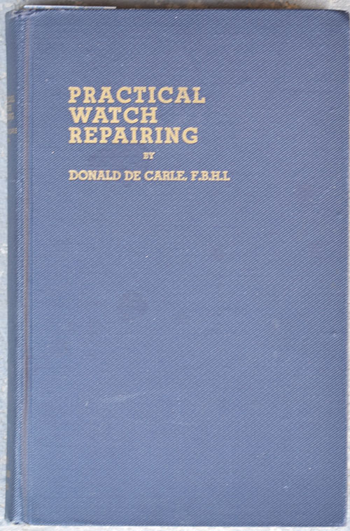 The Watch Repairer's Manual Book Pdf