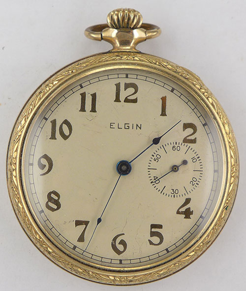 pocket watch elgin serial numbers