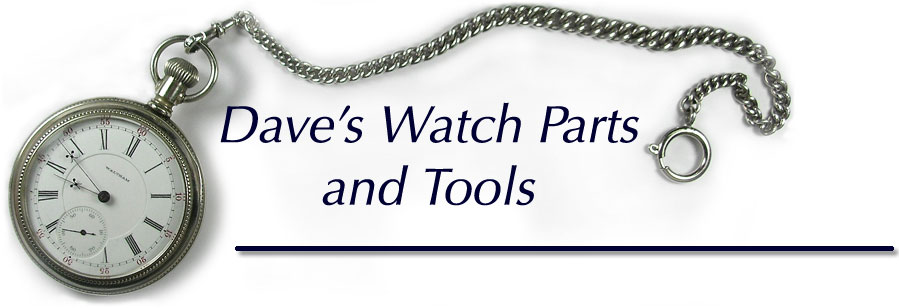 Seth thomas pocket watch parts